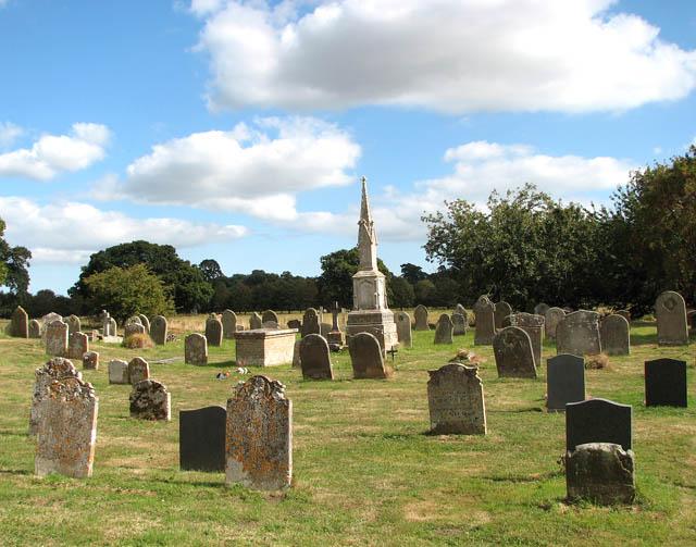 St Mary's church - churchyard