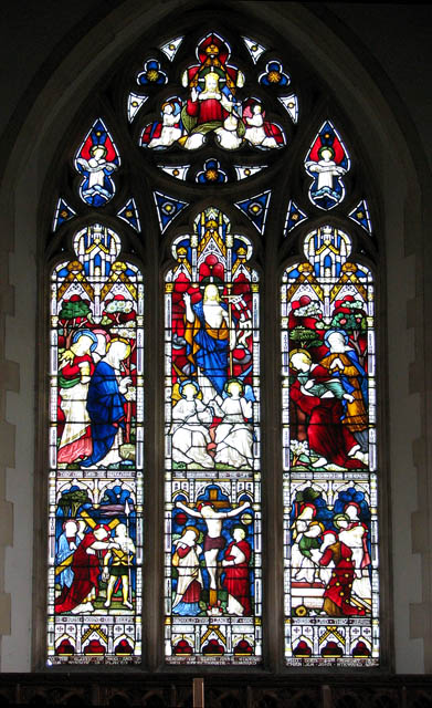 St Mary's church - east window