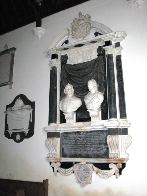 St Mary's church - the Wentworth monument
