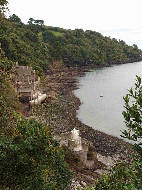 The River Dart lighthouse
