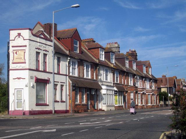 Victorian Houses and Shops on Battle Road, Silverhill