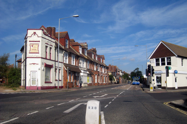 Victorian Houses and Shops at Silverhill Junction