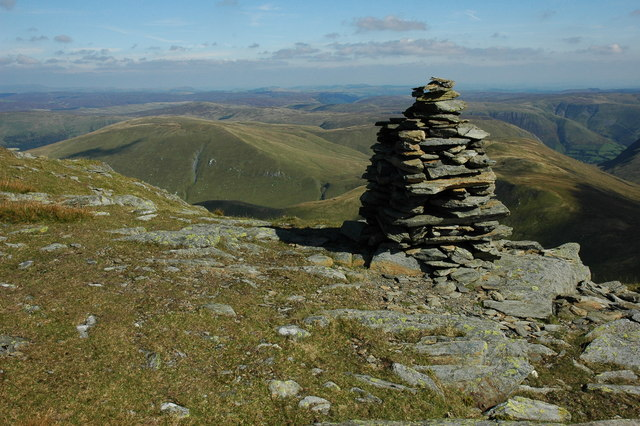 Cairn on the Aran ridge