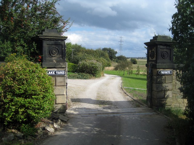 Entrance to Lake Yard