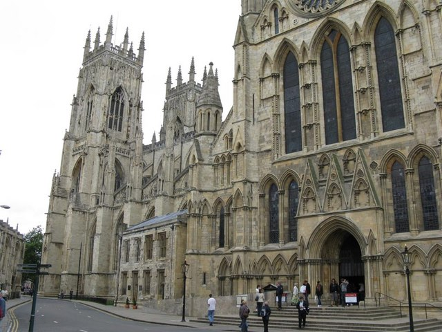 The Minster from Minster Yard