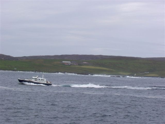 Skea and Newton from the sea