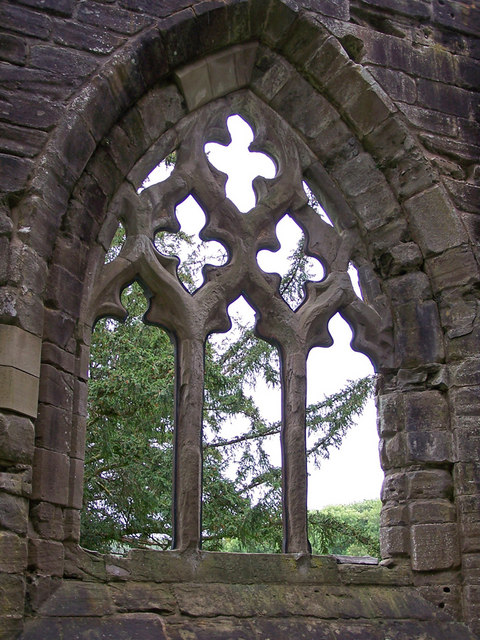 Window in Dunkeld Cathedral