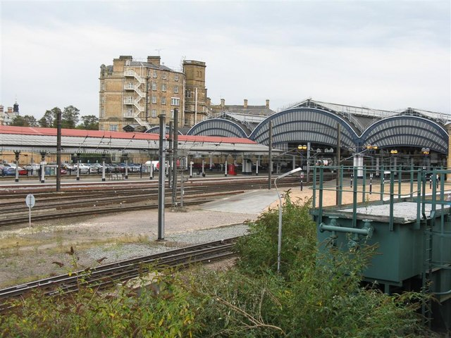 York Station as seen from the NRM