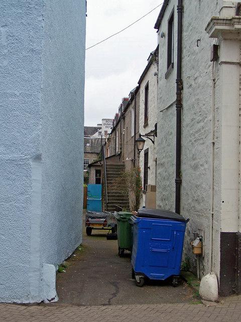 Back alley, Dunkeld
