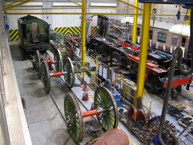 National Railway Museum workshop at York