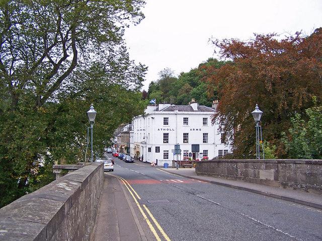 Towards Bridge Street, Dunkeld
