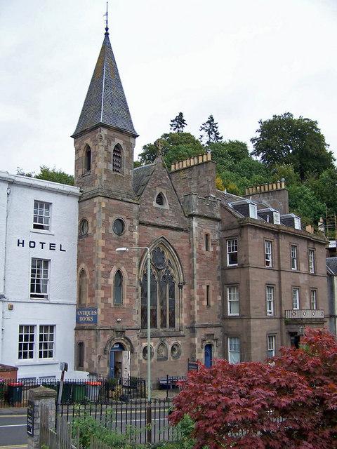 Former church, Dunkeld
