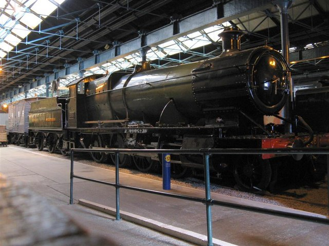 GWR 2-8-0 locomotive at the National Railway Museum