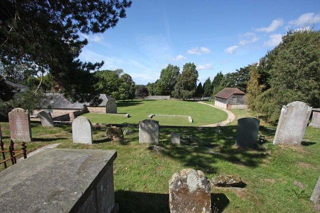 St Margaret, Ditchling, Sussex - Churchyard