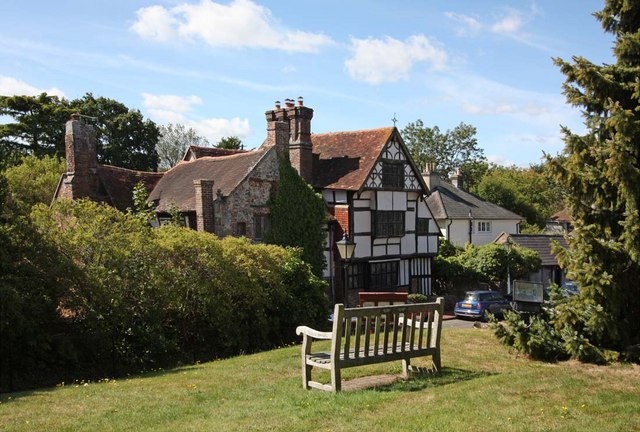 House opposite St Margaret's Church, Ditchling, Sussex