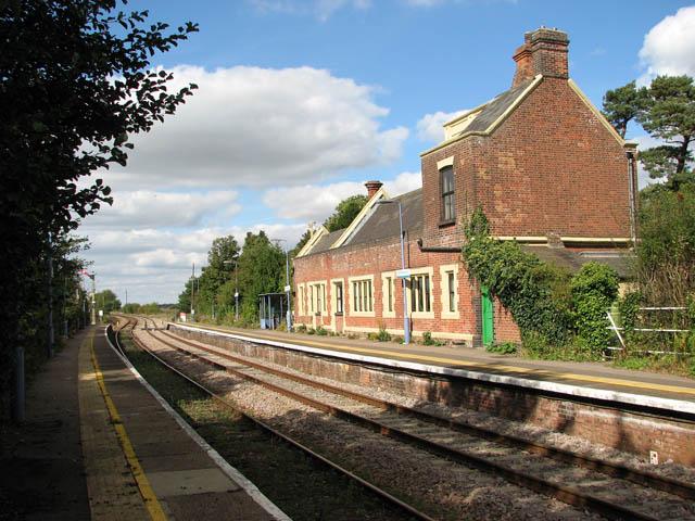 Somerleyton railway station