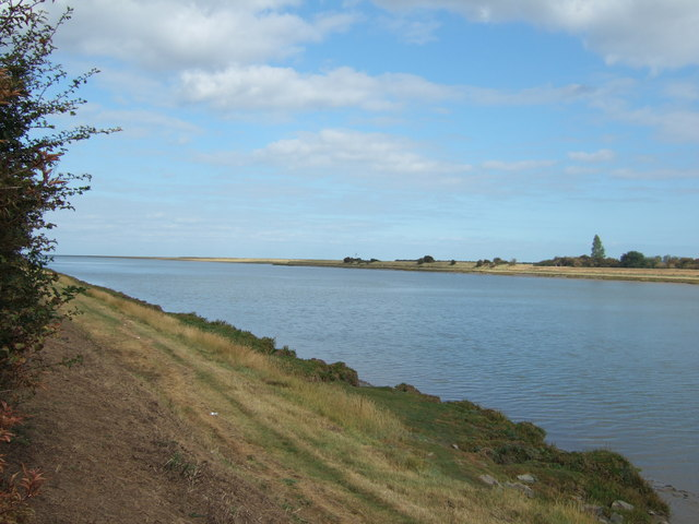 The River Great Ouse north of Kings Lynn