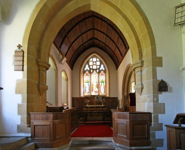 St Martin, Westmeston, Sussex - Chancel