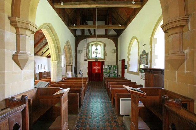 St Martin, Westmeston, Sussex - West end