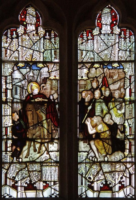 St Martin, Westmeston, Sussex - Window