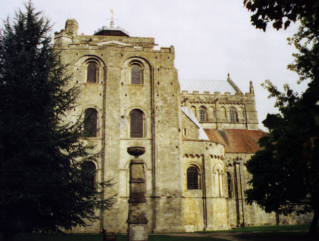 St Mary & St Ethelflaeda, Romsey Abbey