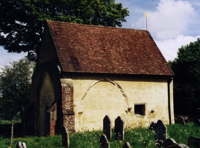 Remains of the Old Church of St Peter, Stockbridge