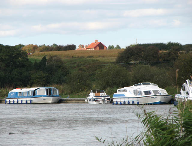 Moorings on the River Waveney
