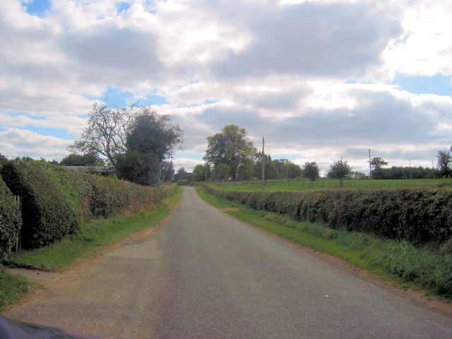Road through Rowton