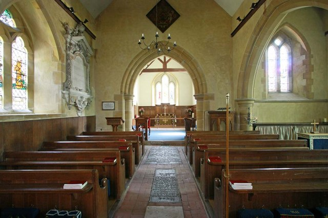 Streat Parish Church, Sussex - East end