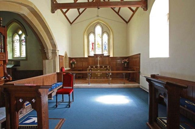 Streat Parish Church, Sussex - South chapel