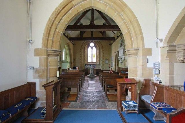 Streat Parish Church, Sussex - West end