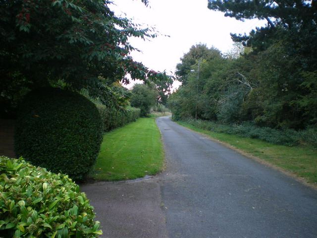 The start of the Tettenhall to Palmer's Cross bridleway