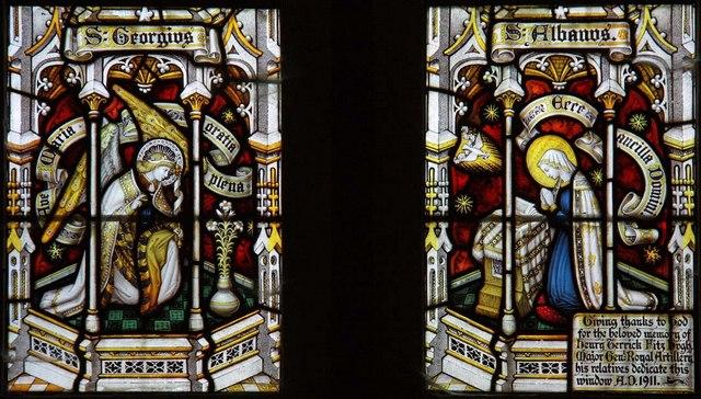 Streat Parish Church, Sussex - Window