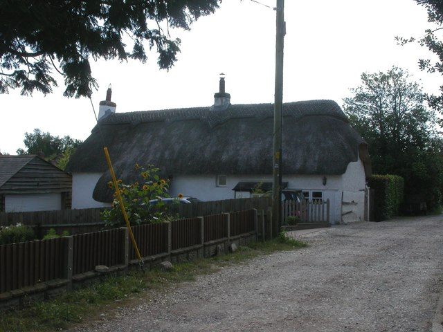 Sway, thatched cottage