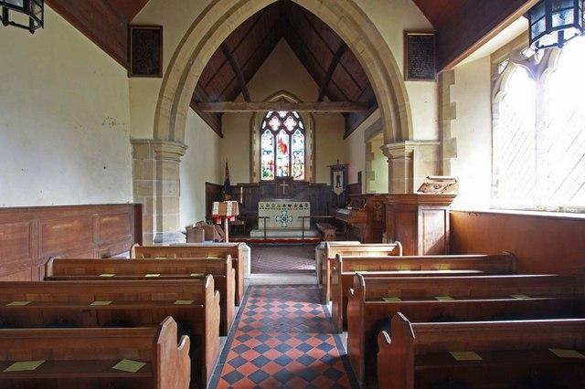 East Chiltington Parish Church, Sussex - East end