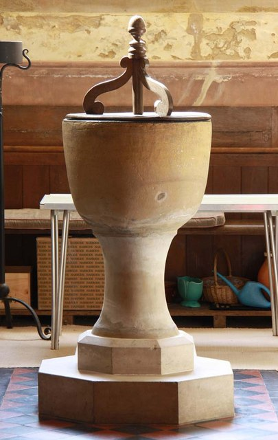 East Chiltington Parish Church, Sussex - Font