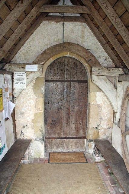 St John the Baptist, Clayton, Sussex - Porch