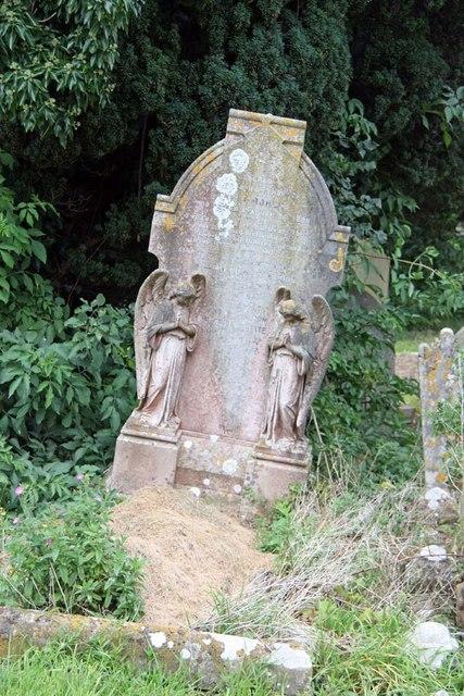 St John the Baptist, Clayton, Sussex - Gravestone