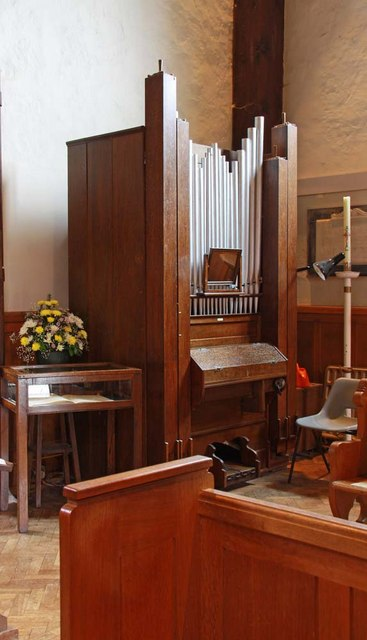 St John the Baptist, Clayton, Sussex - Organ