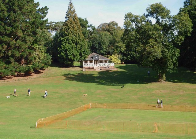 The cricket pavilion Cockington