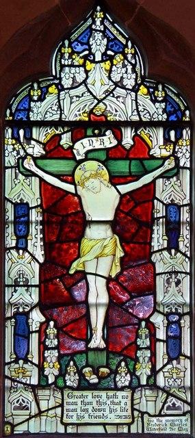St John the Baptist, Clayton, Sussex - Window