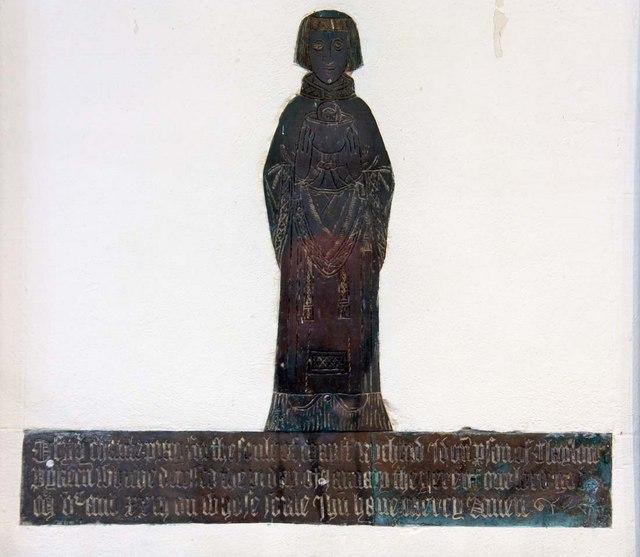 St John the Baptist, Clayton, Sussex - Brass