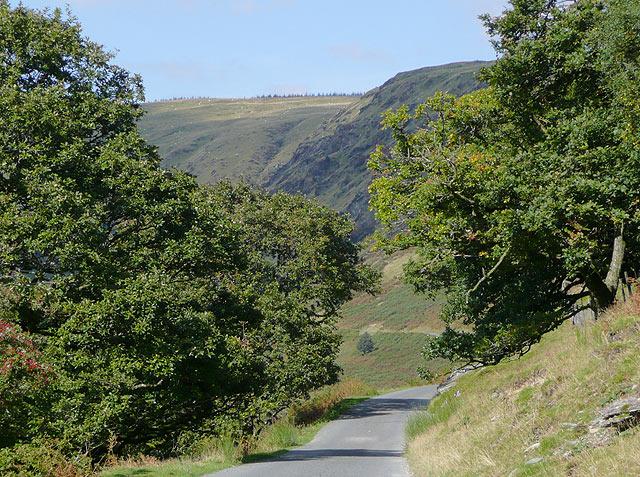 The road to Tregaron, near Abergwesyn,Powys
