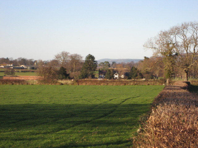 Cefn Coch viewed from south side