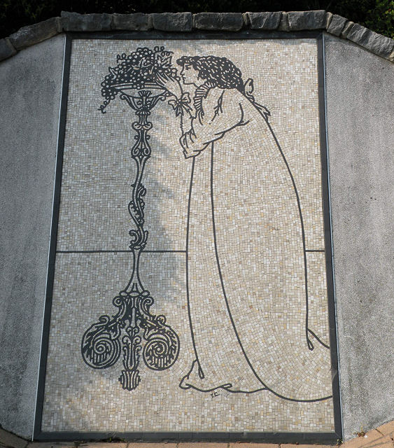 Mosaic, Exeter Road