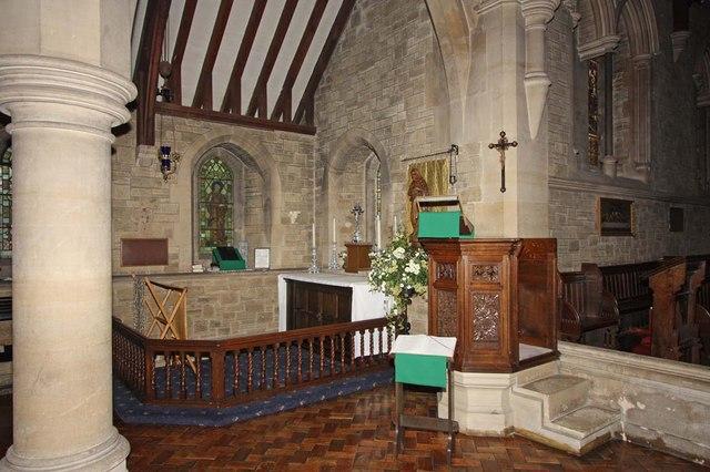All Saints, Roffey, Sussex - Pulpit