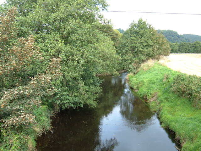 The River Derwent near Wrench Green