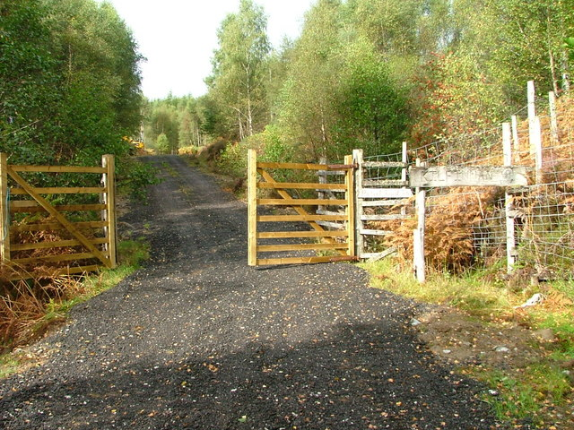 New gate and resurfaced track