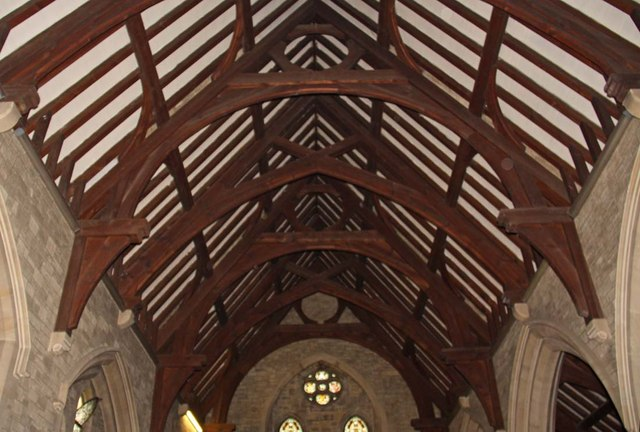 All Saints, Roffey, Sussex - Roof