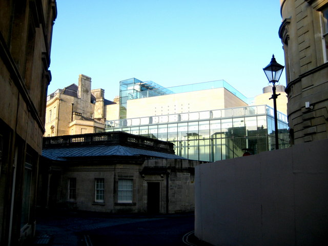 The rear of Thermae Bath Spa